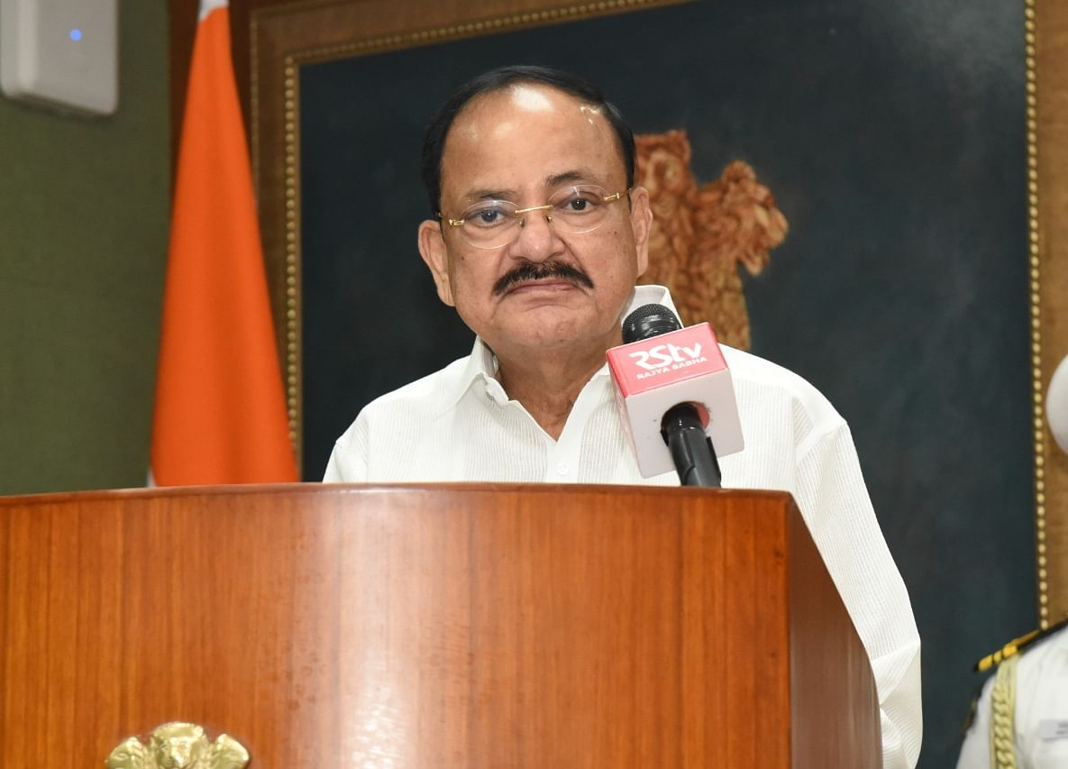 Vice President Venkaiah Naidu Tests Positive For Covid-19