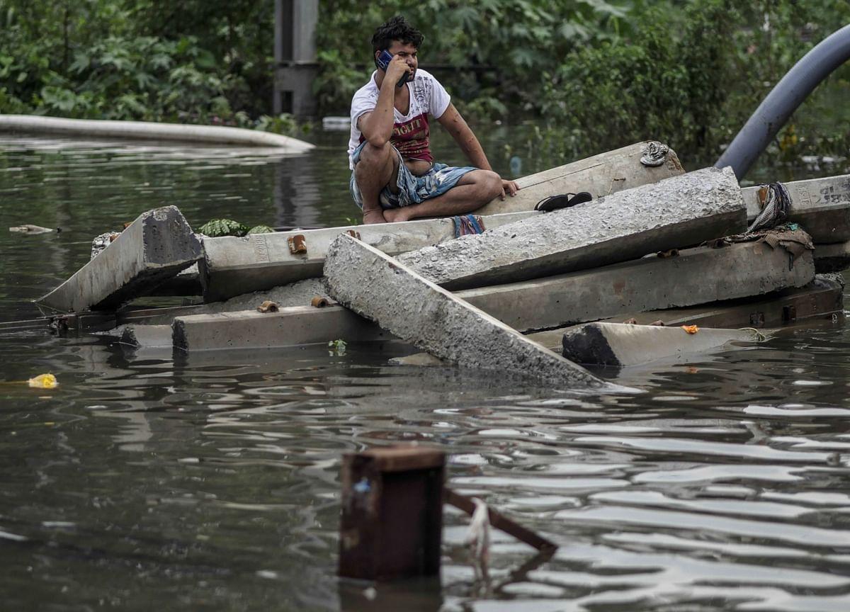 Extreme Weather Puts $84 Billion of Indian Bank Debt at Risk