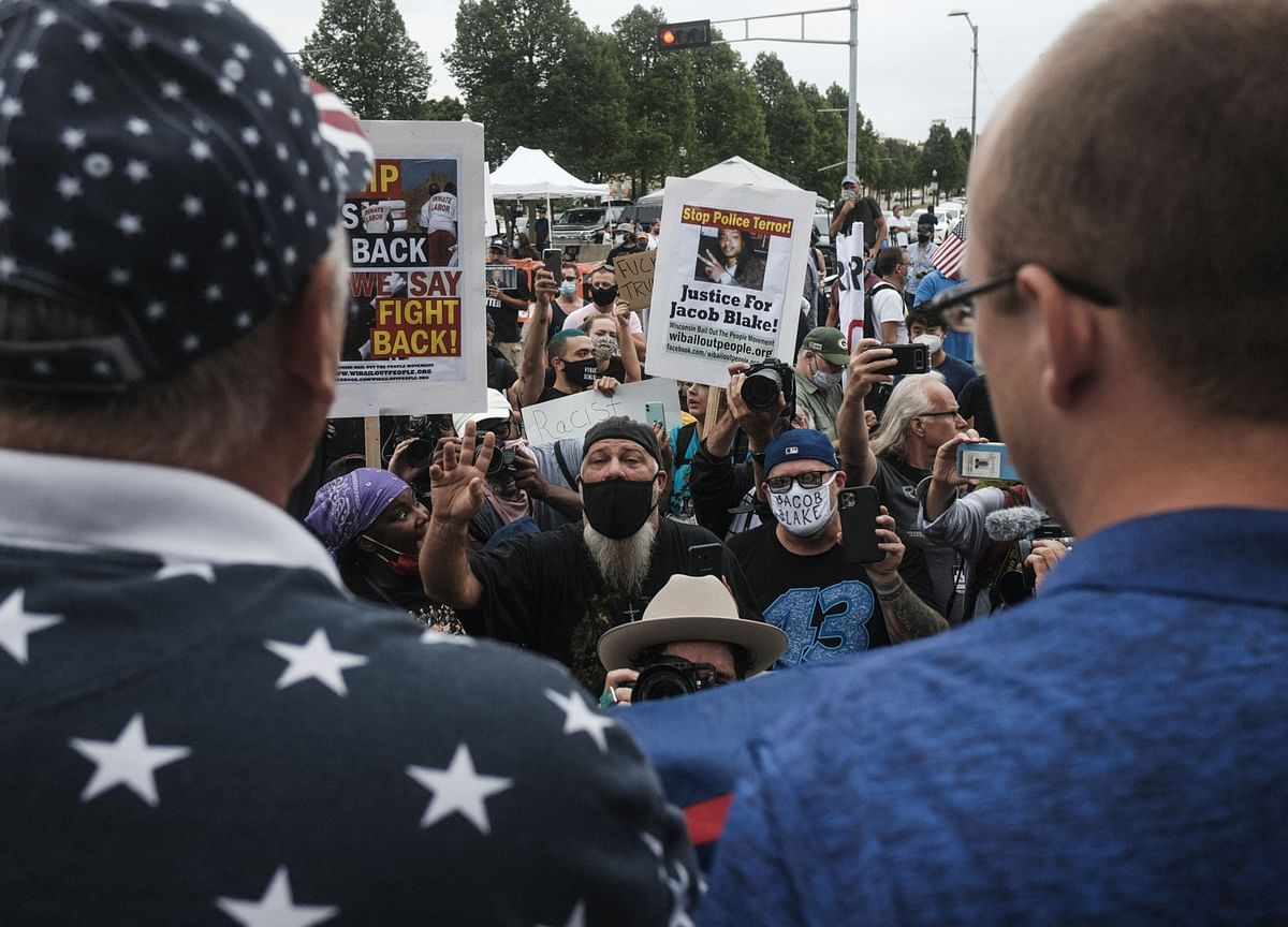 Trump Lauds Police in Defiant Trip to Protest-Torn Kenosha