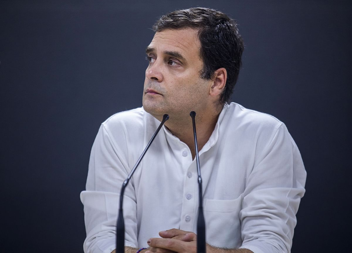 There's No Democracy In India, It Is Only In Imagination: Rahul Gandhi