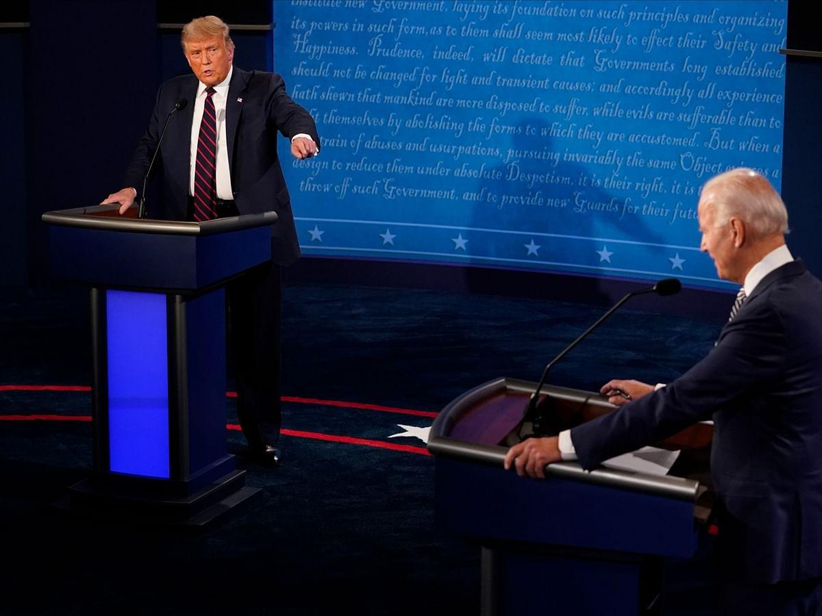 Trump, Biden Spar Over Graft, Covid, Racism But Keep Gloves On