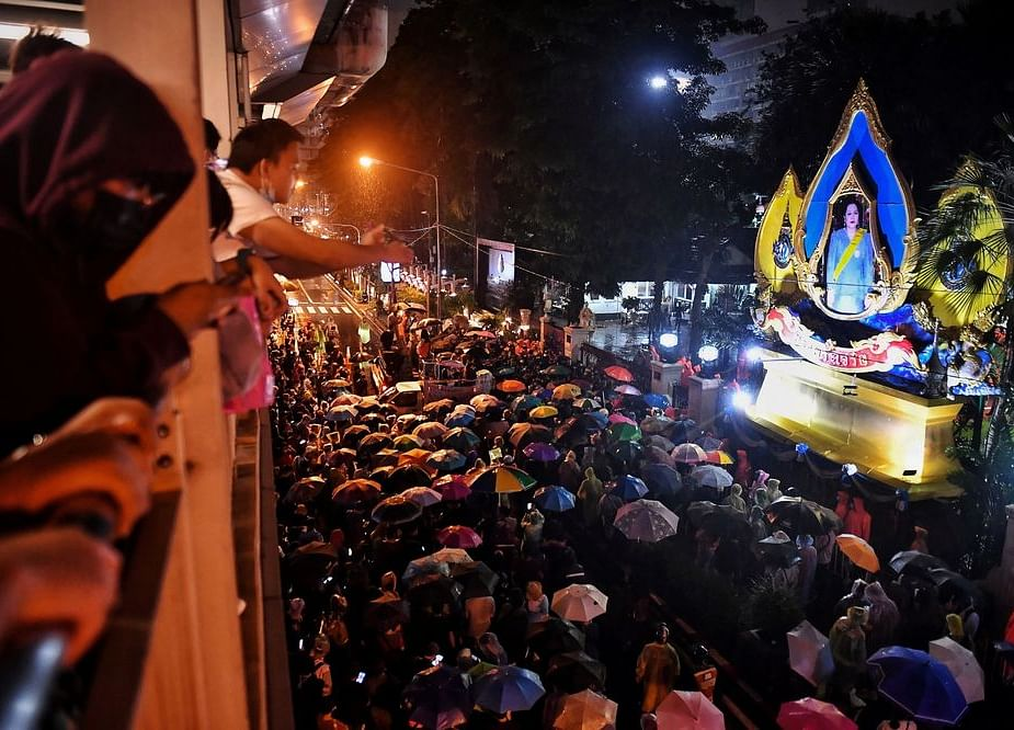 Thai Protesters Face Off With Police as Rally Stokes Tension