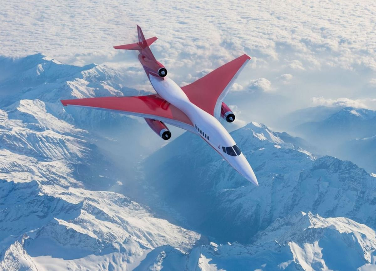 Supersonic-Jet Builder Dreams of Faster Flights—at 3,000 MPH