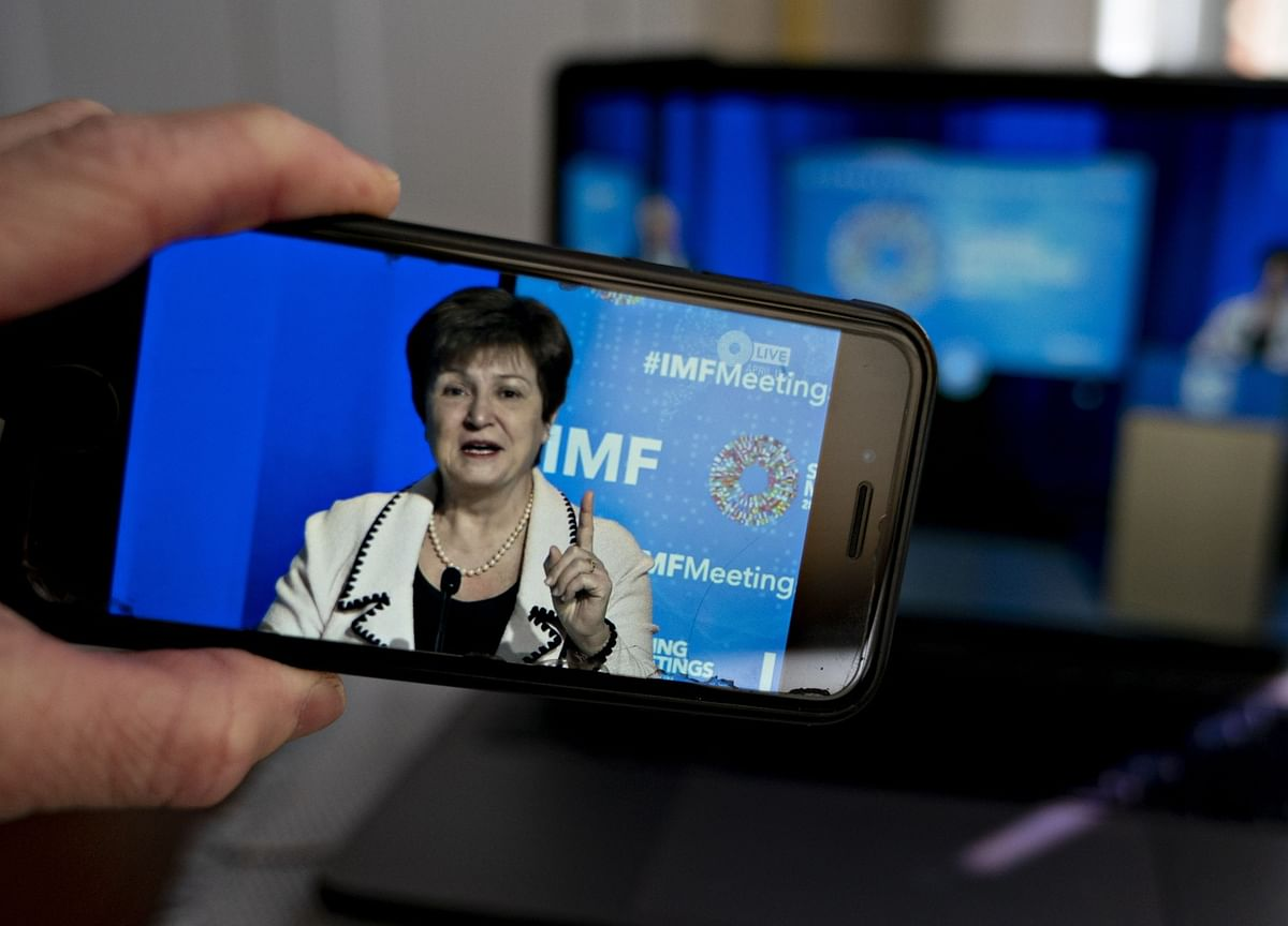 IMF's Georgieva Says Covid Crisis Is a Chance to Fix Capitalism
