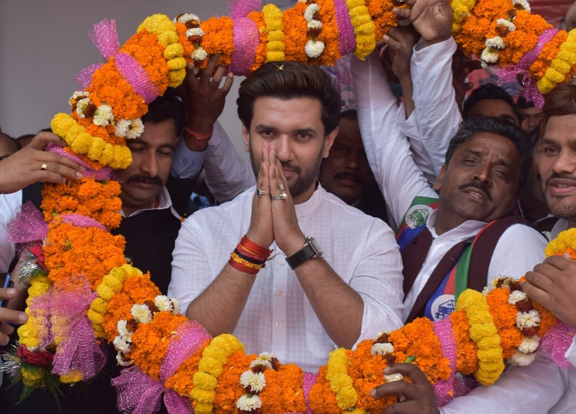 People Of Bihar Don't Want Nitish Kumar As  Chief Minister Again; State Needs BJP-Led Government: Chirag Paswan