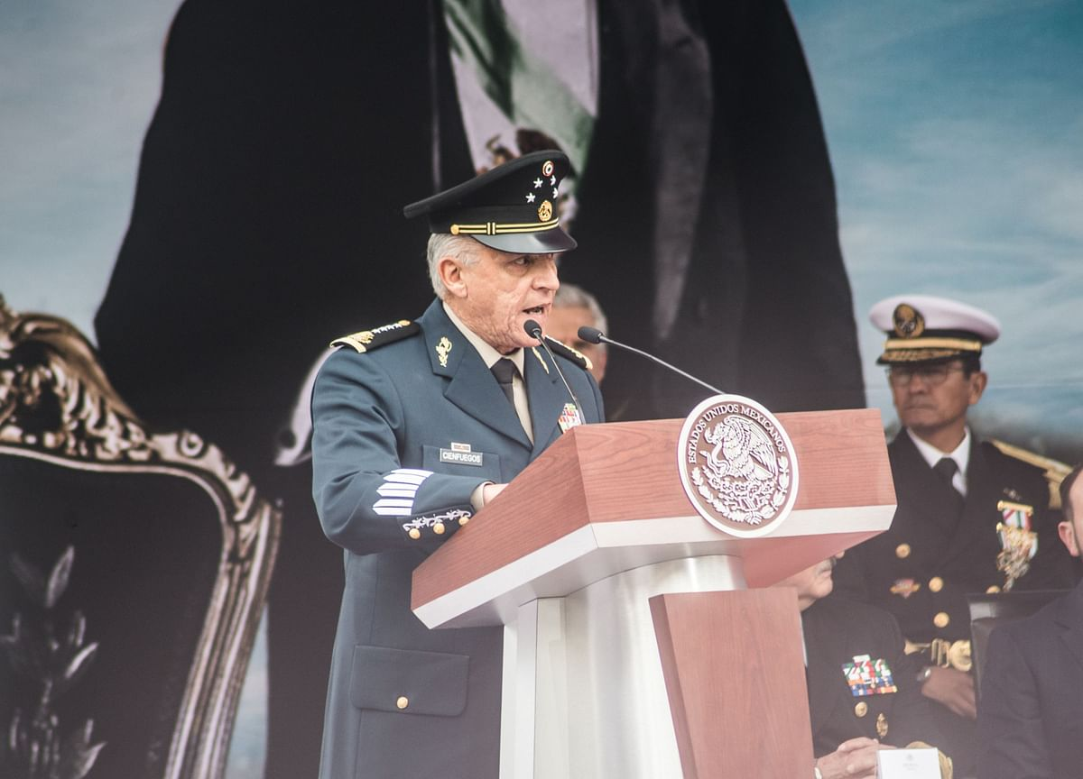 He Was Mexico's Defense Chief. The U.S. Says He's A Drug Dealer