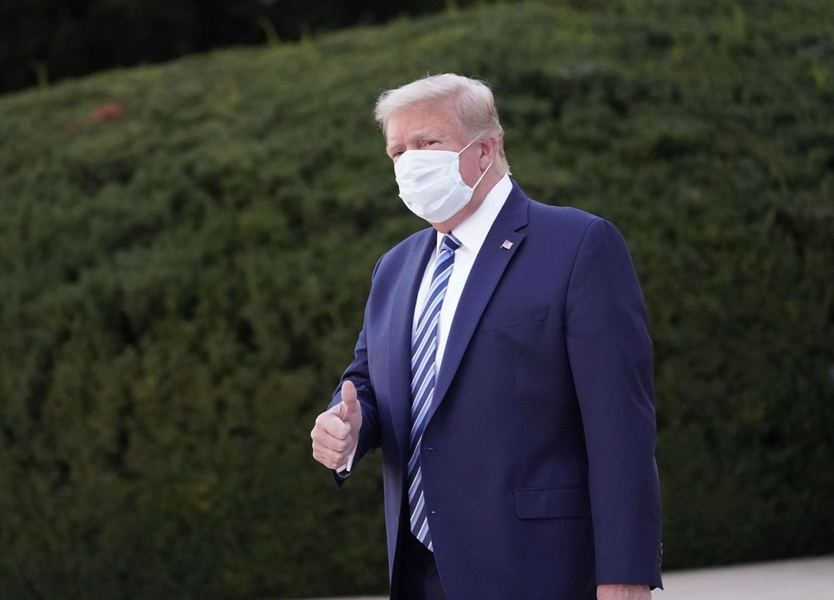 Trump Unleashes Two-Hour Twitter Barrage on First Full Day Out of Hospital