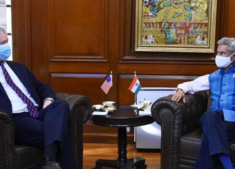 Foreign Minister S Jaishankar Holds Talks With U.S. Deputy Secretary Of State Stephen Biegun