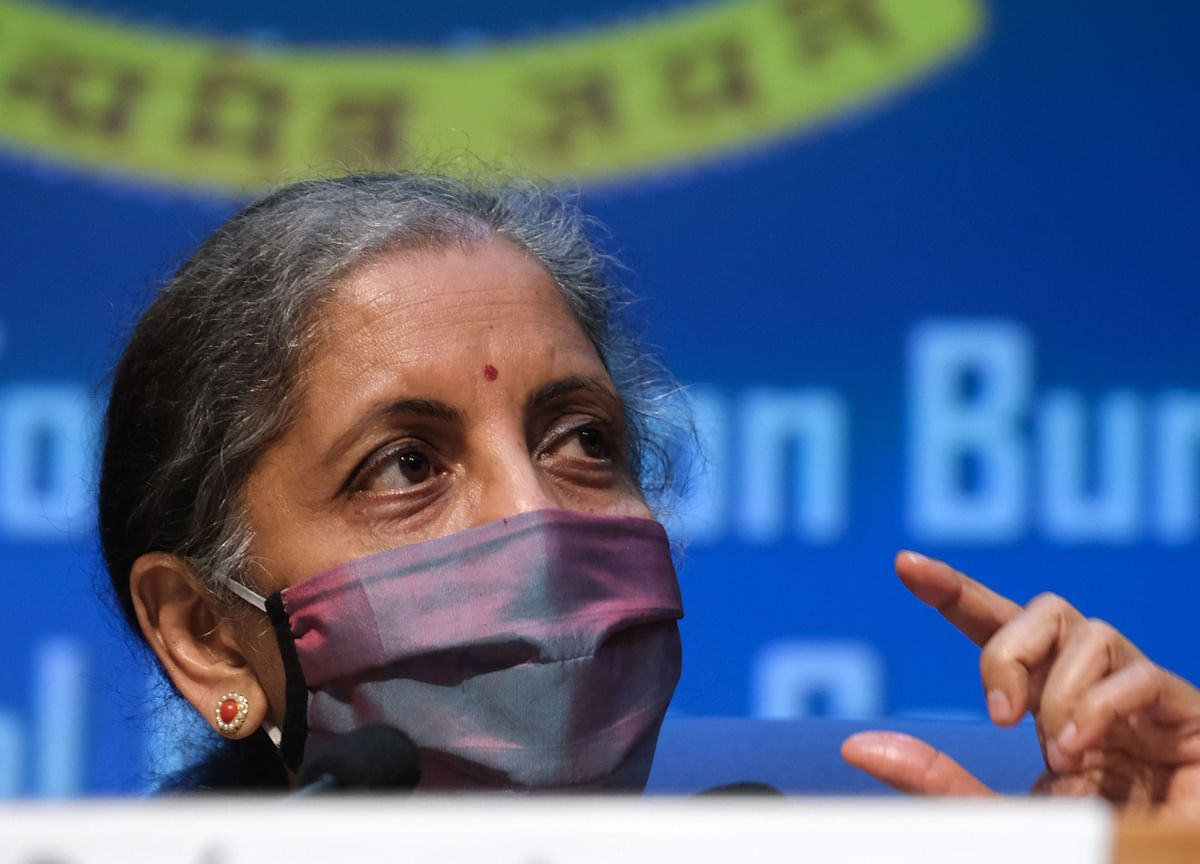 Economy Reviving, But GDP Growth To Be Negative Or Near Zero This Fiscal: Finance Minister Nirmala Sitharaman