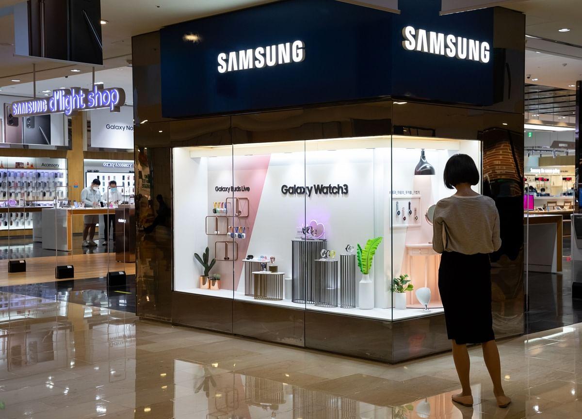Samsung's Profit Beats After U.S. Sanctions Hit Rival Huawei