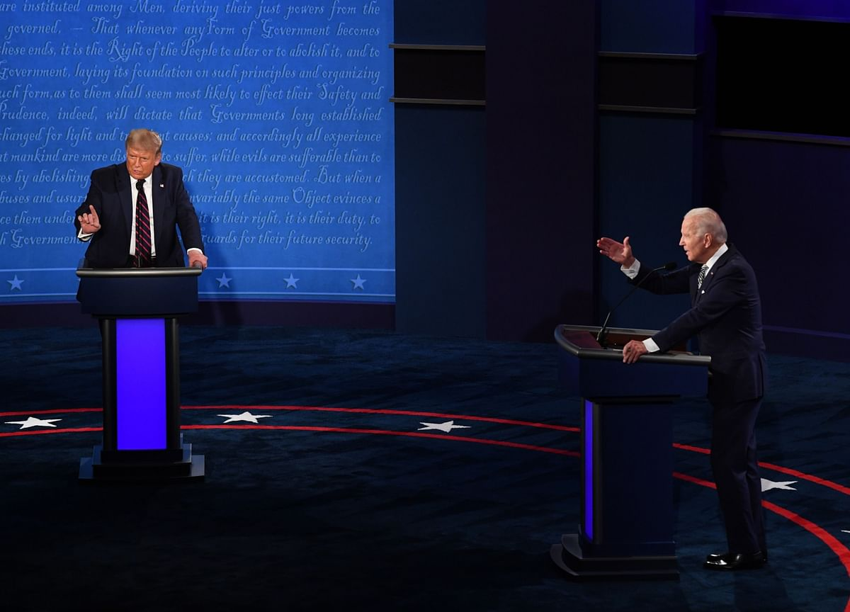 Biden, Trump Will Be Muted at Times During Final Debate