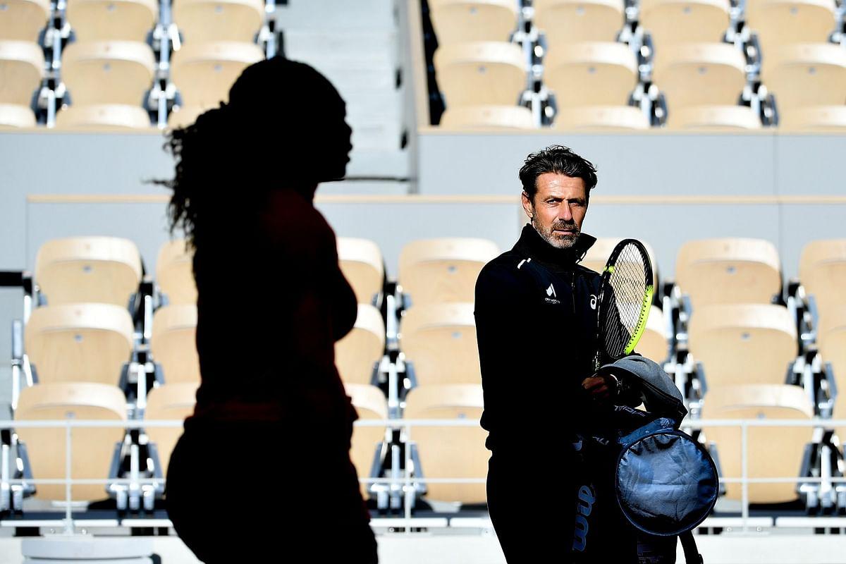 Patrick Mouratoglou with Serena Williams. (Image: Patrick Mouratoglou social media)