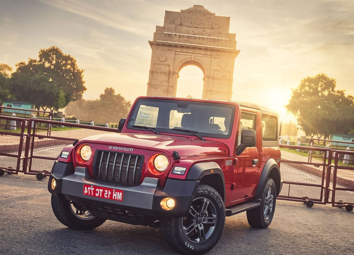 Mahindra Launches Sports Utility Vehicle 'Thar' Priced At Rs 9.8 Lakh