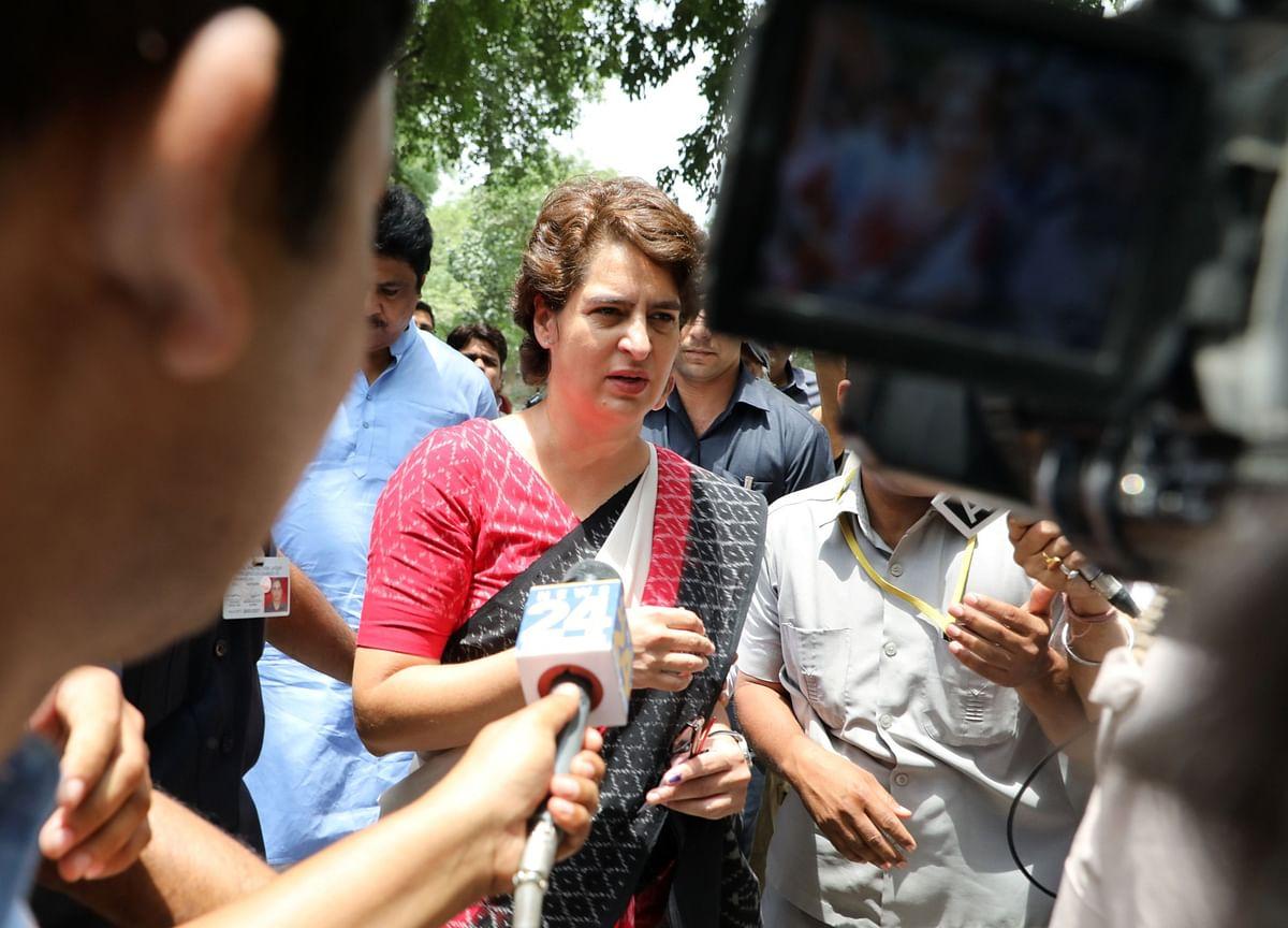 Uttar Pradesh's Narrative Of Protecting Perpetrators Of Crimes Against Women Has Emboldened Them: Priyanka Gandhi