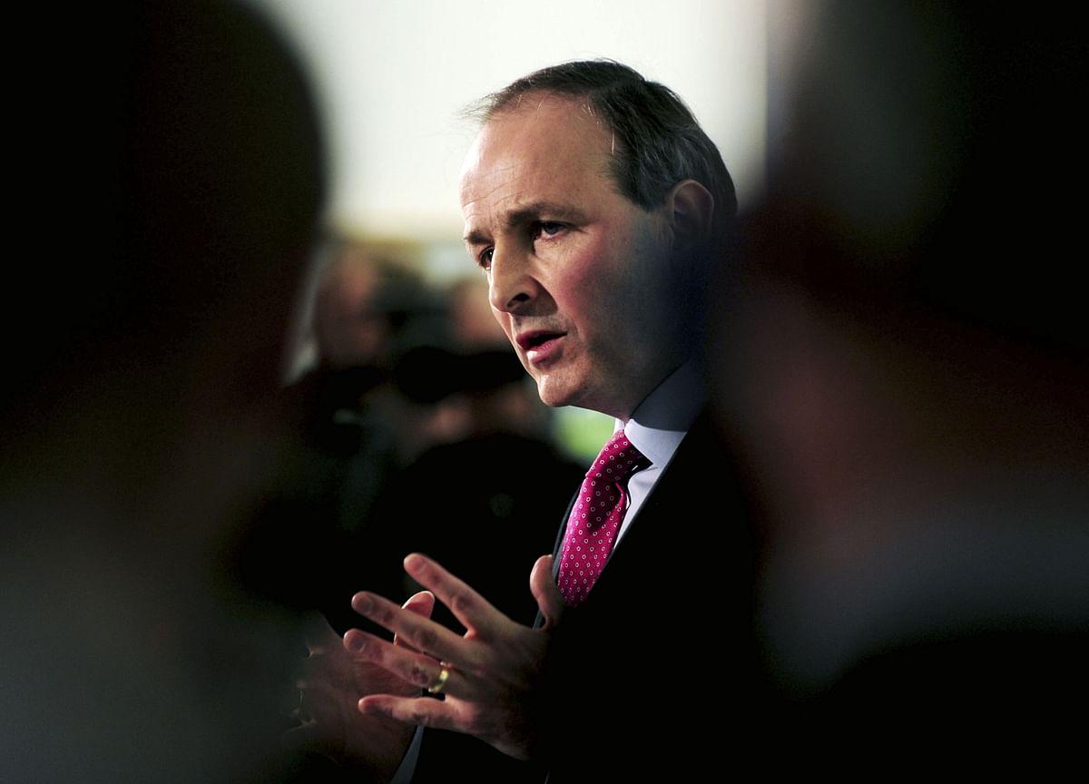 Irish PM Sees Big Gaps in Brexit Talks as Michel Jets In
