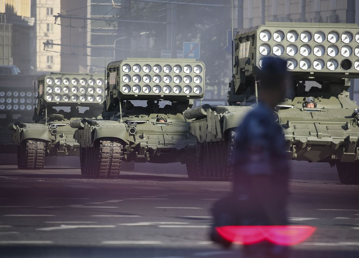 Russia's Military Strength Now at Post-Cold War Peak, Report Says