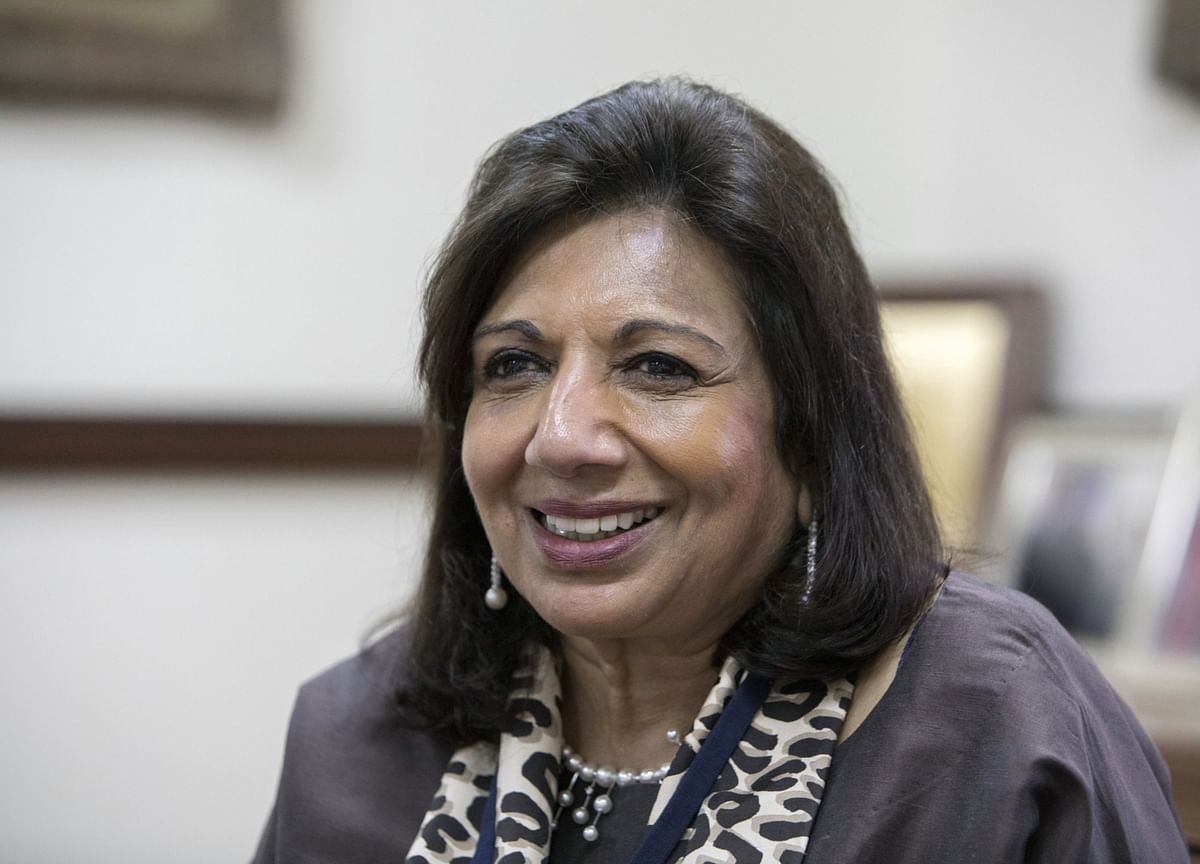 Biocon In Talks With More PE Firms For Investment In Biologics Business: Kiran Mazumdar-Shaw