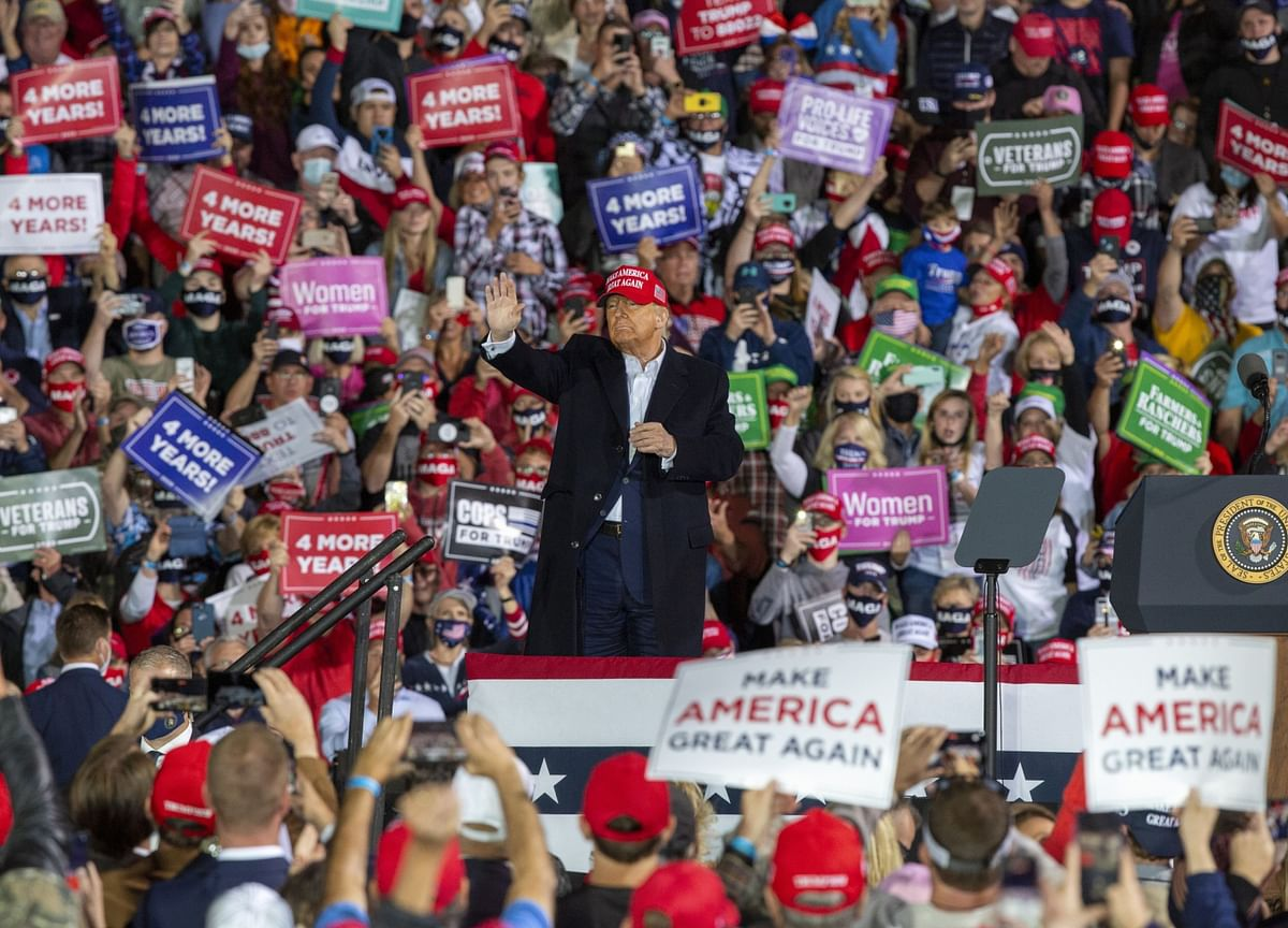 Trump Undercuts Campaign Reset as He Weighs Prospect of Defeat