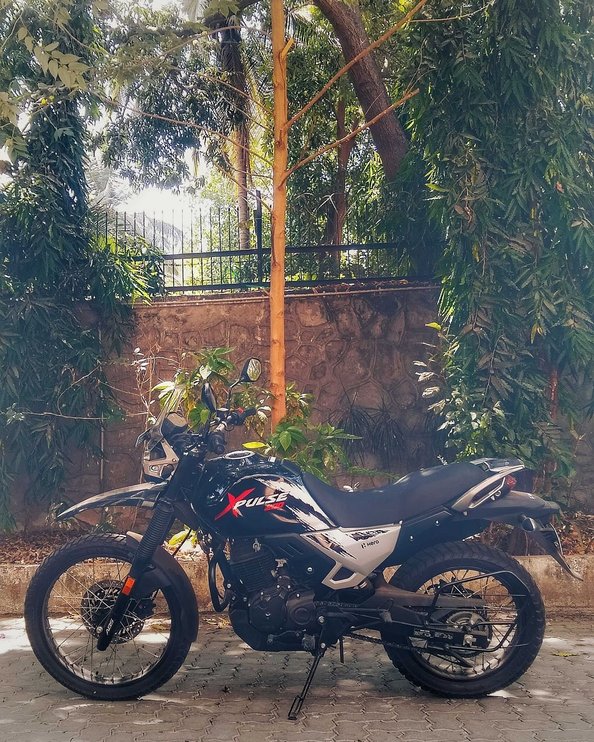 The Hero XPulse 200, the biggest motorcycle in Hero MotoCorp's current line-up. (Photo: BloombergQuint)