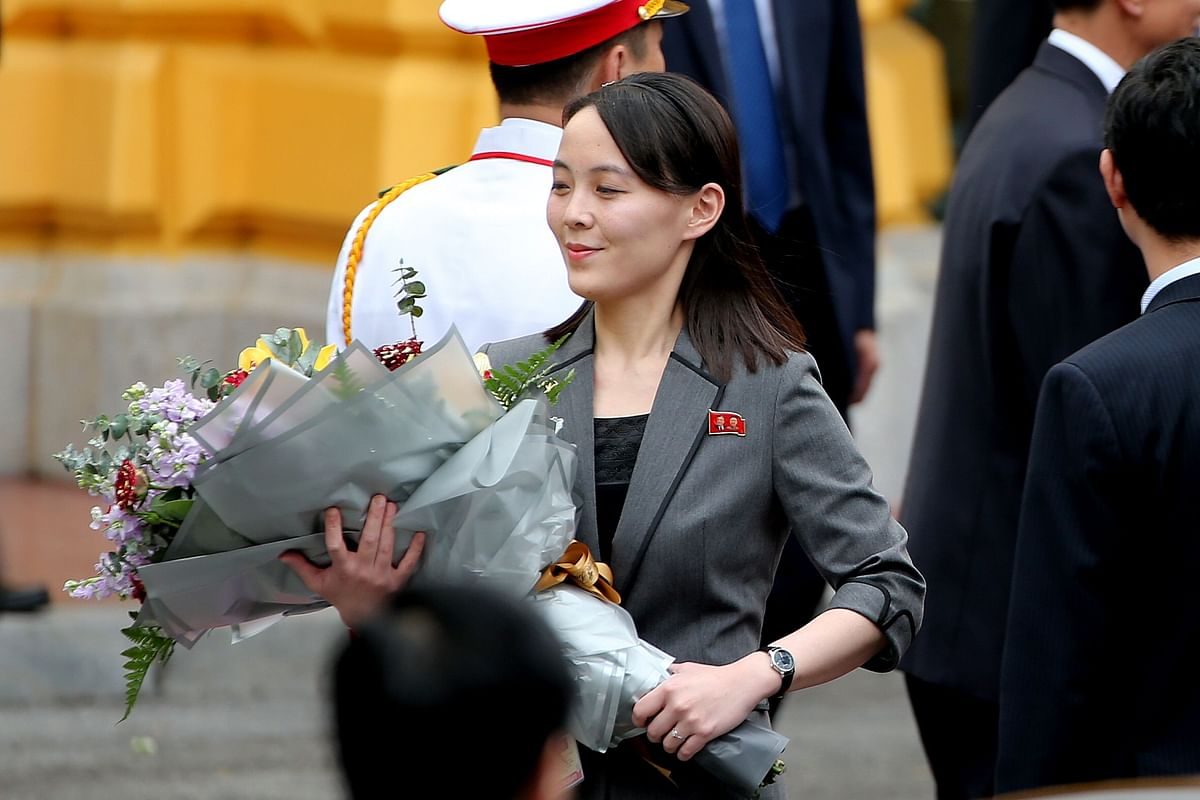 Kim Jong Un's Sister Reported in Public for 1st Time Since July
