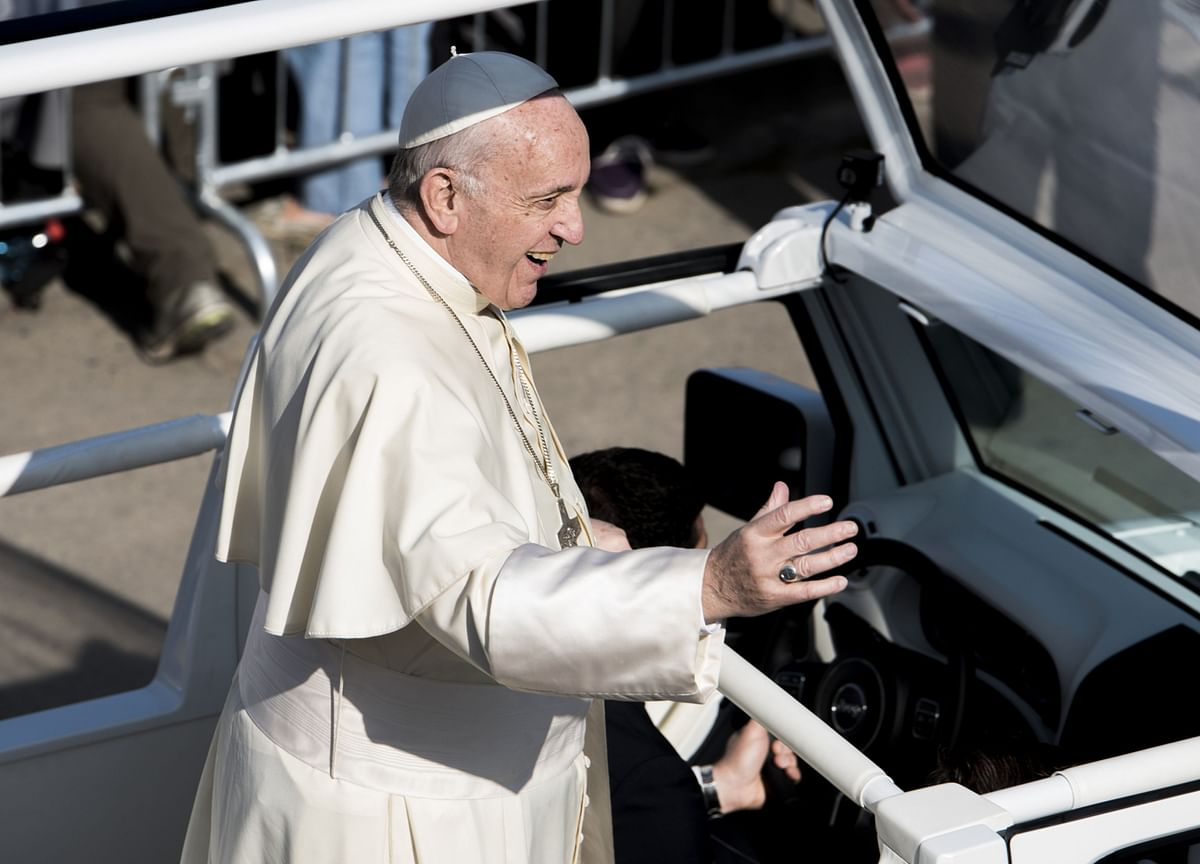 Pope Backs Civil Unions, Says LGBTQ Have 'Right to a Family'