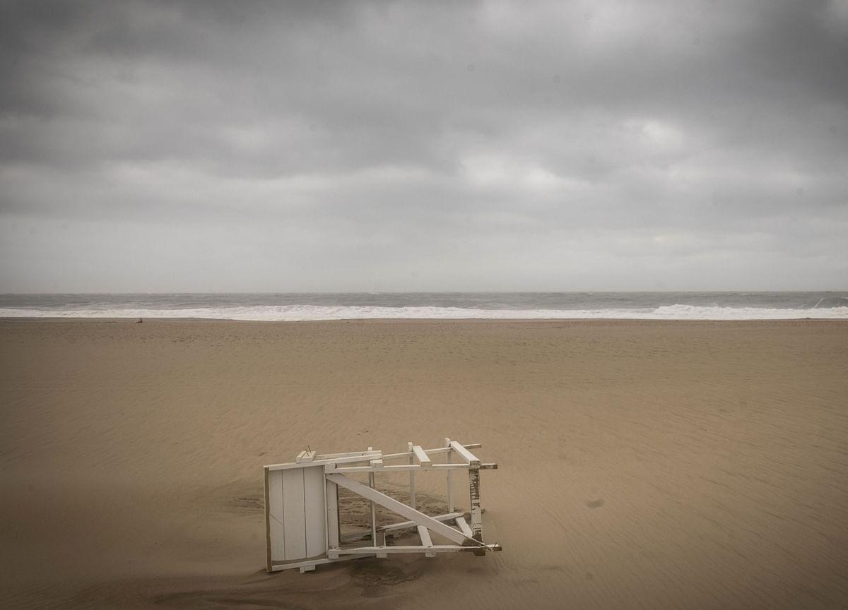 Hurricane Delta Hits Mexican Coast With Dangerous Storm Surge