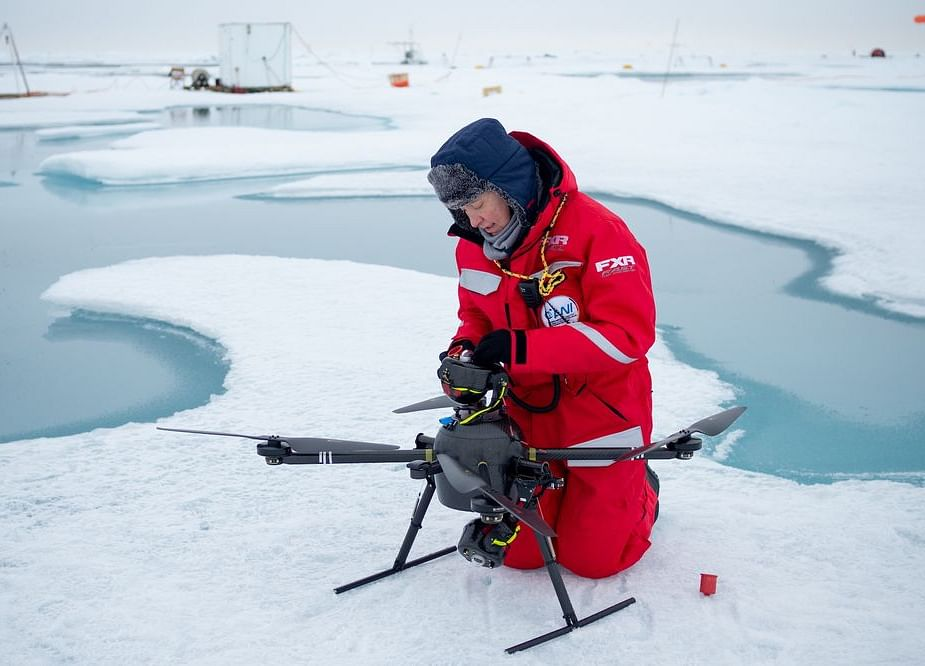 First Drone Goes Flying to the North Pole on a Climate Mission