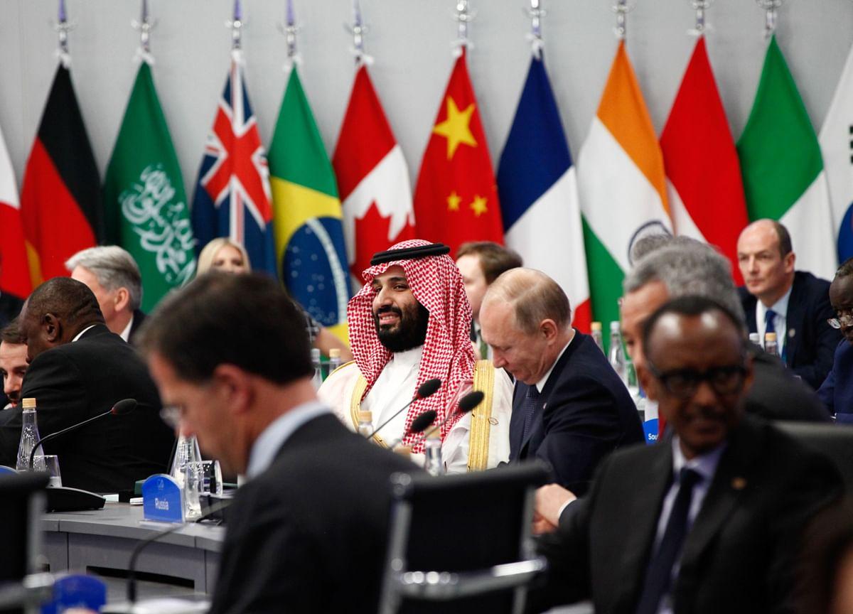 Saudi Prince and Putin Urge OPEC+ Compliance as Oil Prices Sag