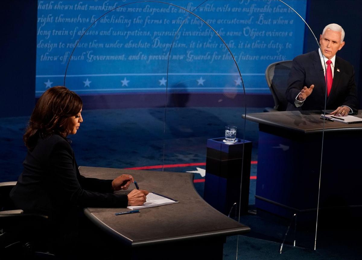 Harris Rips Trump Over Virus as Pence Hits Biden on Taxes, Court
