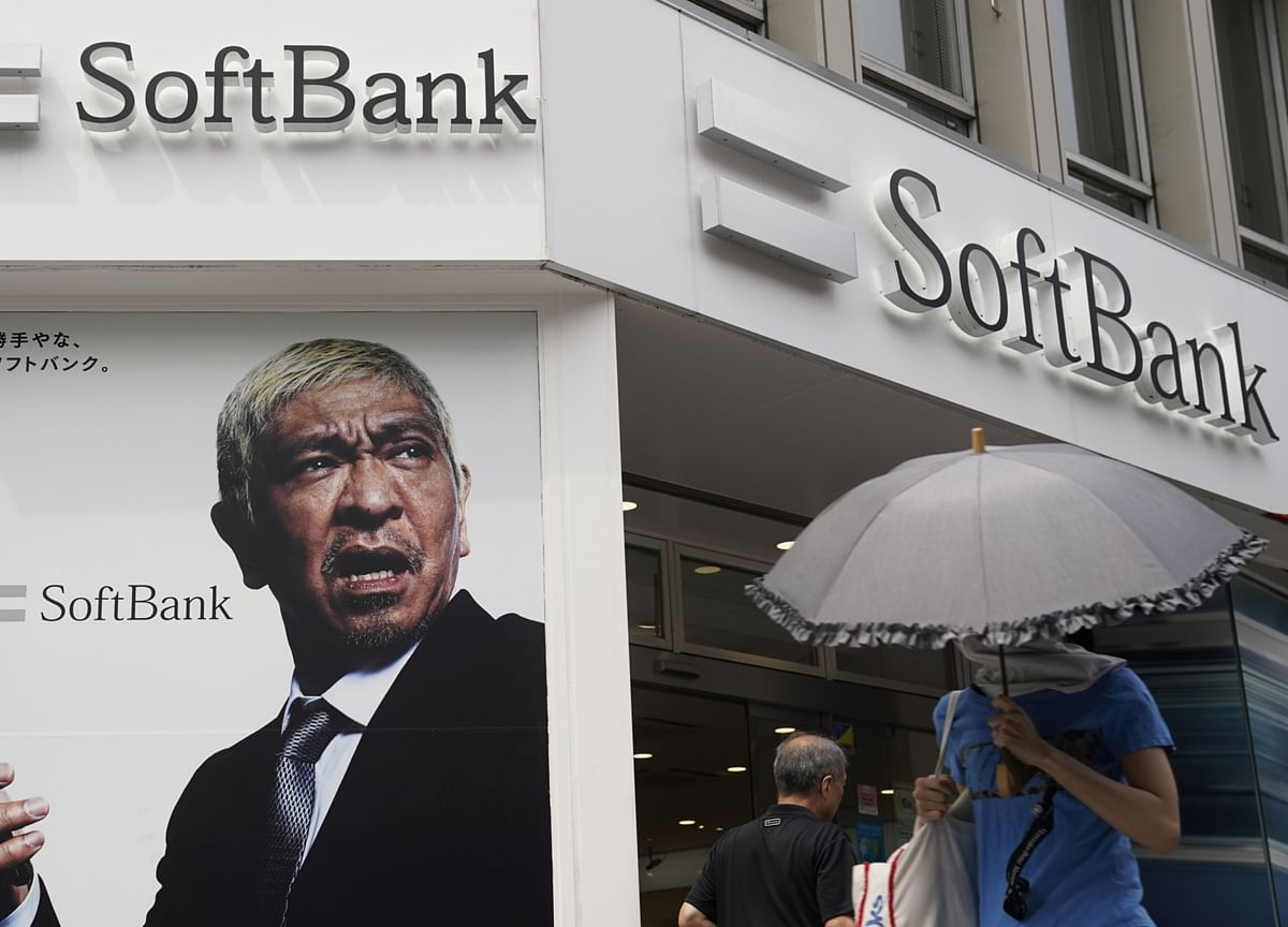SoftBank Hits 20-Year High as Investors Embrace Defensive Stance