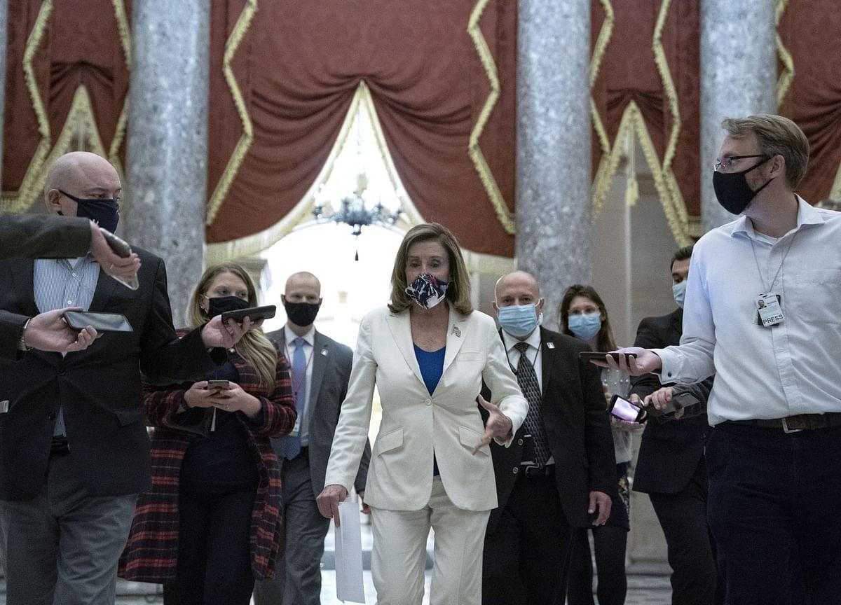 Pelosi Cites Fed Chair's Warning to Prod GOP on Bigger Stimulus