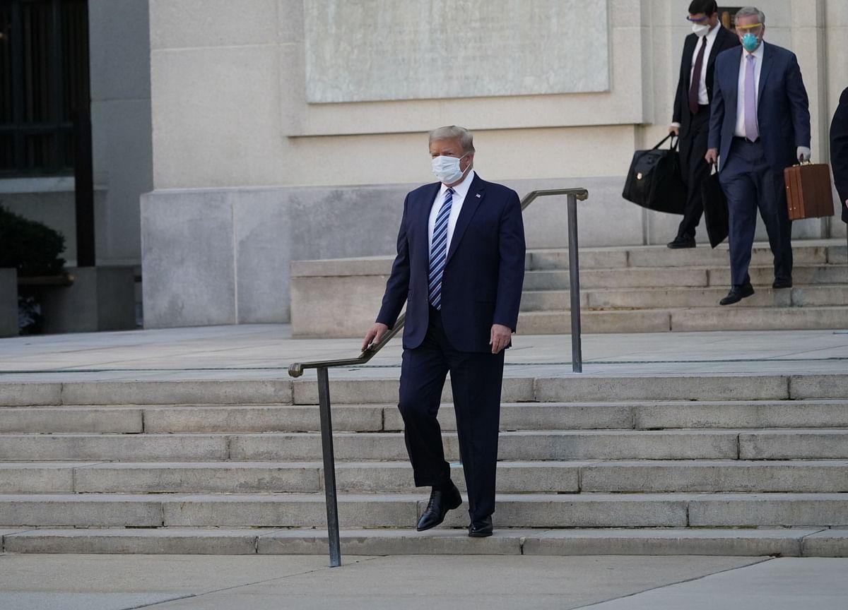 President Leaves the Hospital, Walking Unassisted: Trump Update