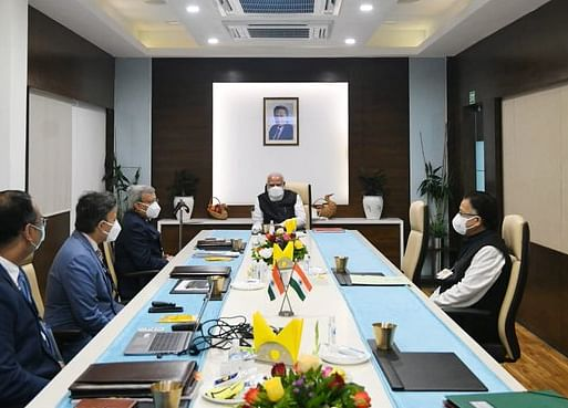 Modi Visits India Vaccine Makers as Astra Considers Fresh Trial