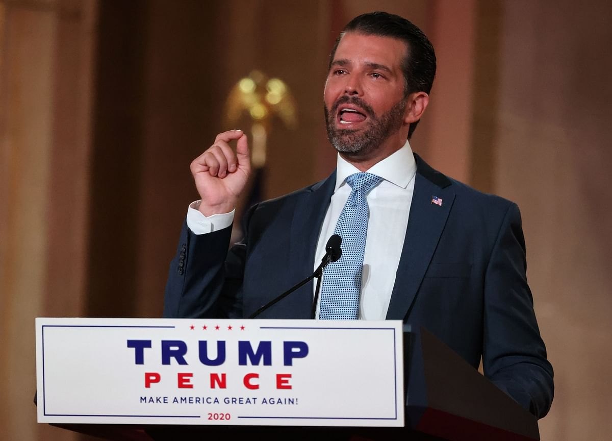 Donald Trump Jr. Positive for Coronavirus, Said to Be Doing Well