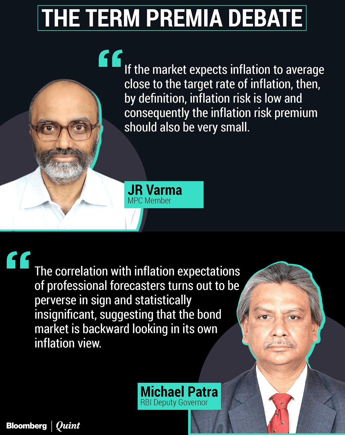 Term Premia Debate: RBI's Michael Patra Counters JR Varma's View