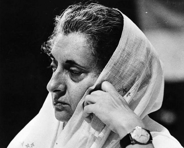 Indira Gandhi, 1971. (Photo: Fox Photos/Getty Images)