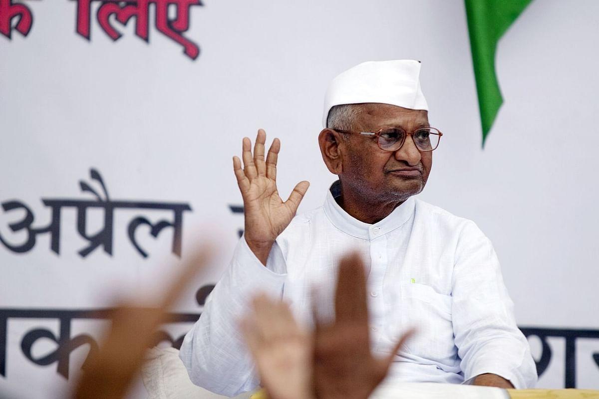 Social activist, Anna Hazare, 2011. (Photo: Prashanth Vishwanathan/Bloomberg)