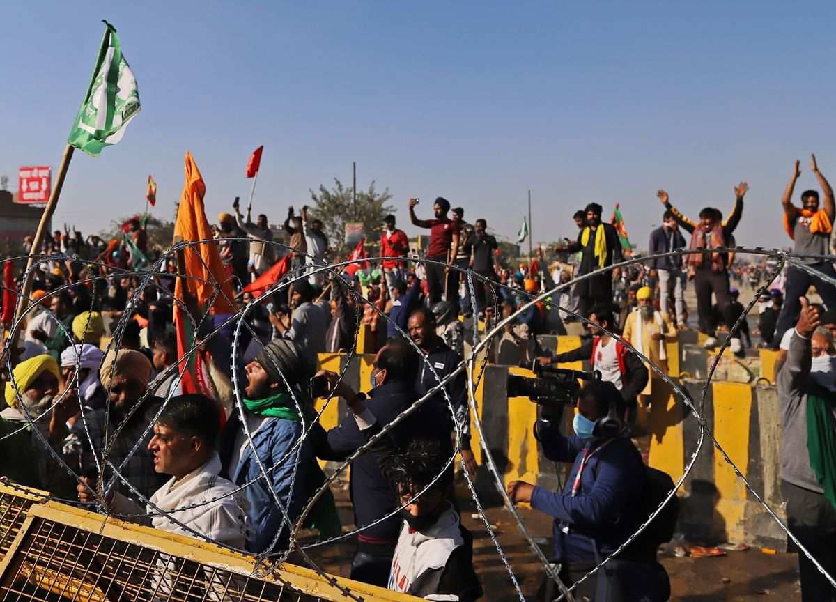 Farmers' Protest: Concrete Barriers At Delhi Borders As More Join Protests