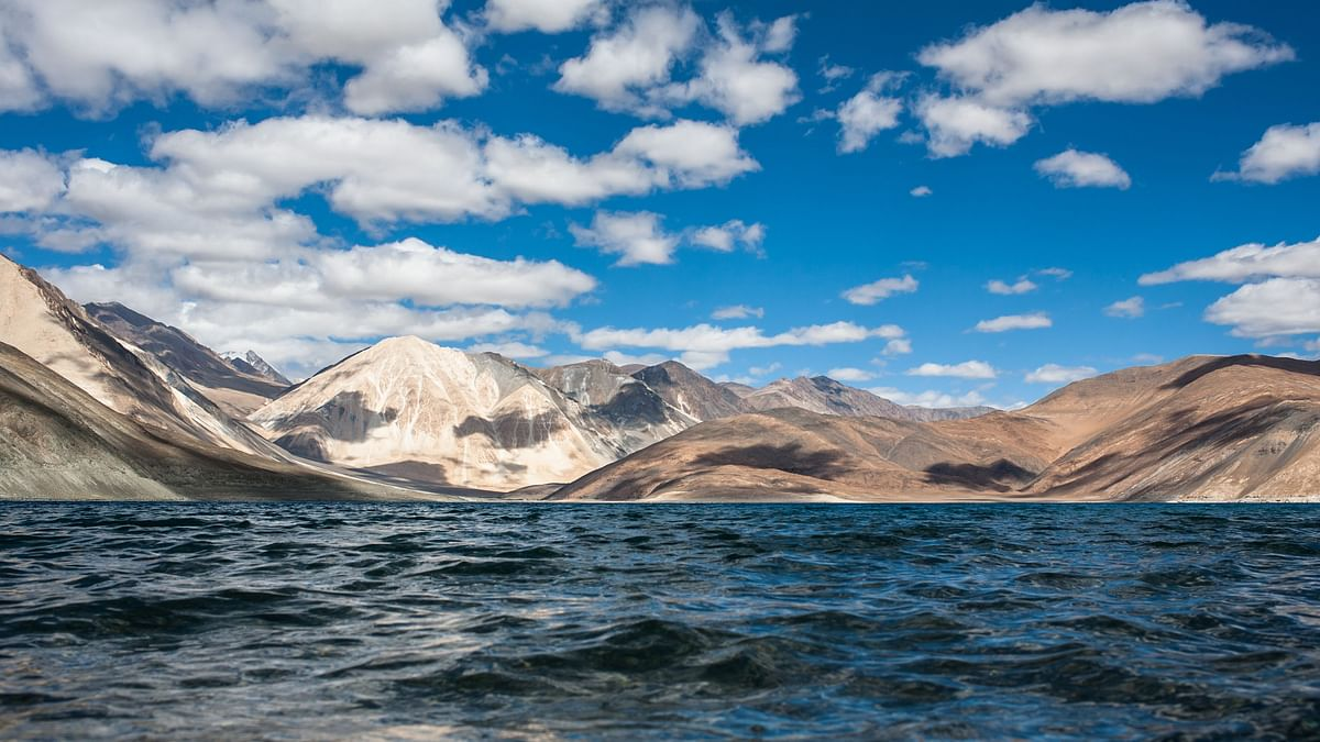 The Pangong Tso in eastern Ladakh. (Image: Government of India)