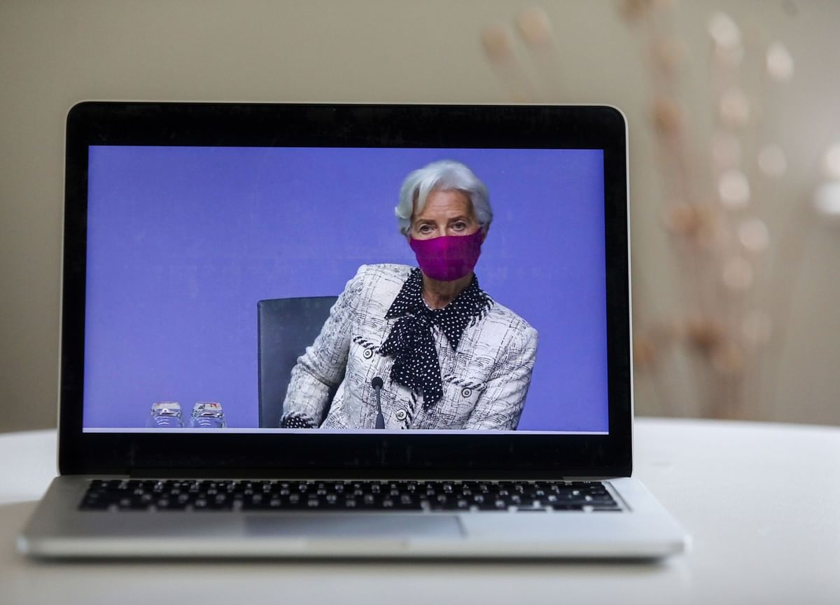 Christine Lagarde Says Covid Vaccine 'No Game Changer'for ECB Stimulus Plans