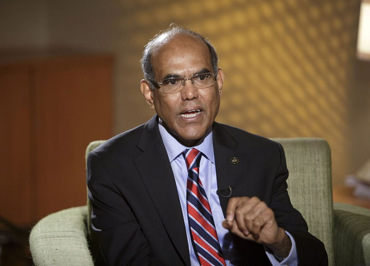 Former RBI Governor Subbarao Says Government Should Stick To Inflation Targeting Regime