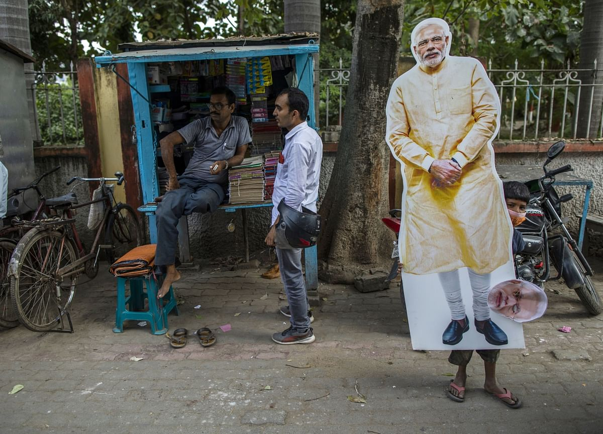 Leader of the World's Largest Democracy Faces First Pandemic Poll Test