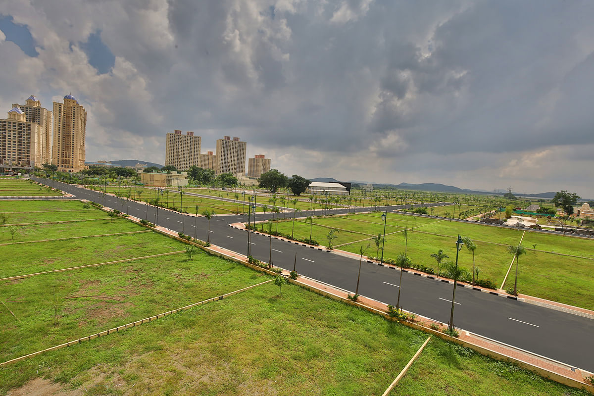 Plotted development at Hiranandani Parks, Oragadam, Chennai (Source: Hiranandani Communities)