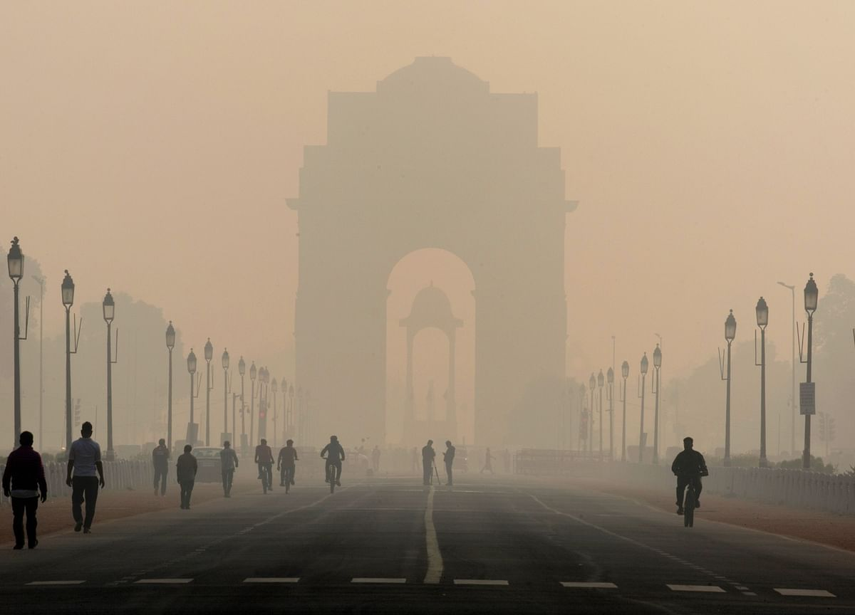 Coronavirus Is Worsening Delhi's Air Pollution Crisis