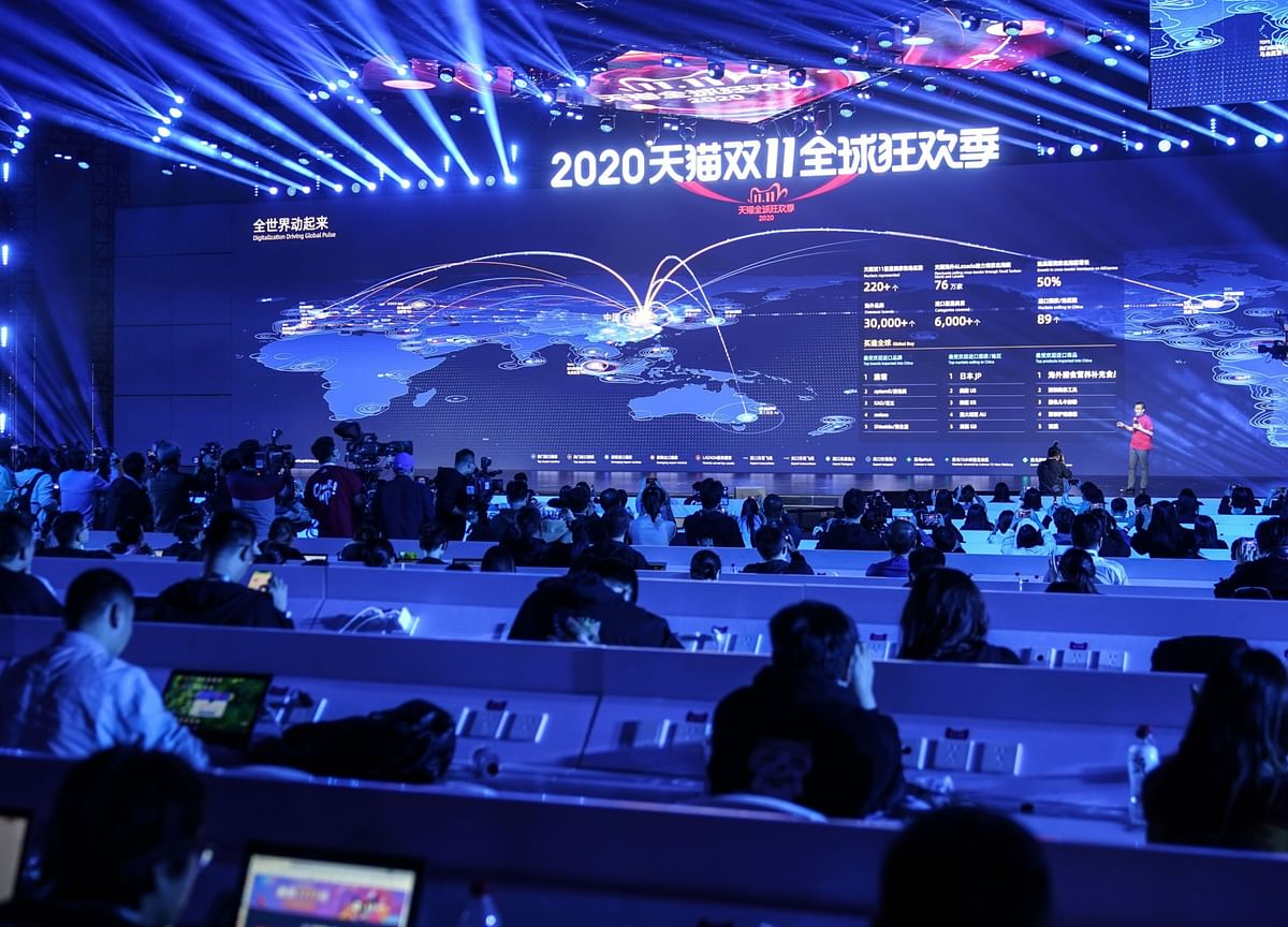 Alibaba Singles' Day Ends Strongly as Beijing Crackdown Looms