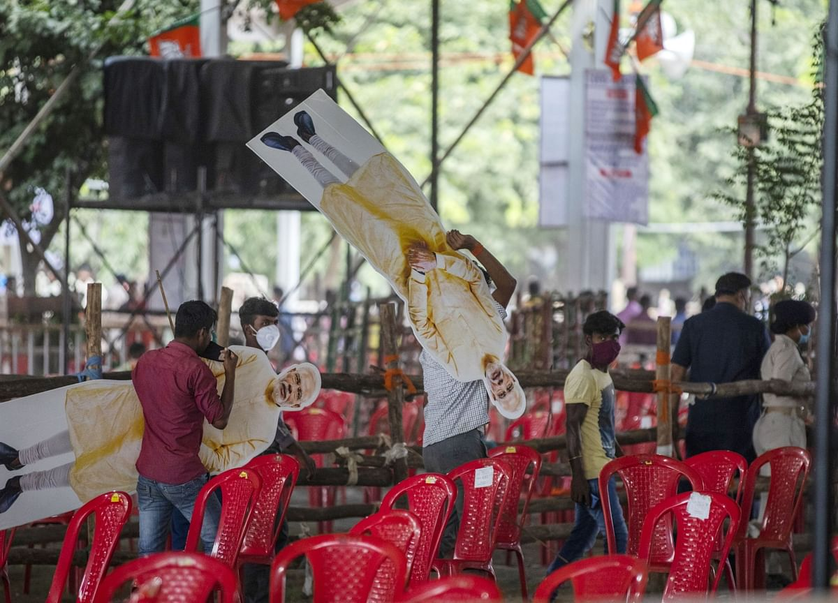 Modi's First India Poll Test Since Covid Goes Down to the Wire