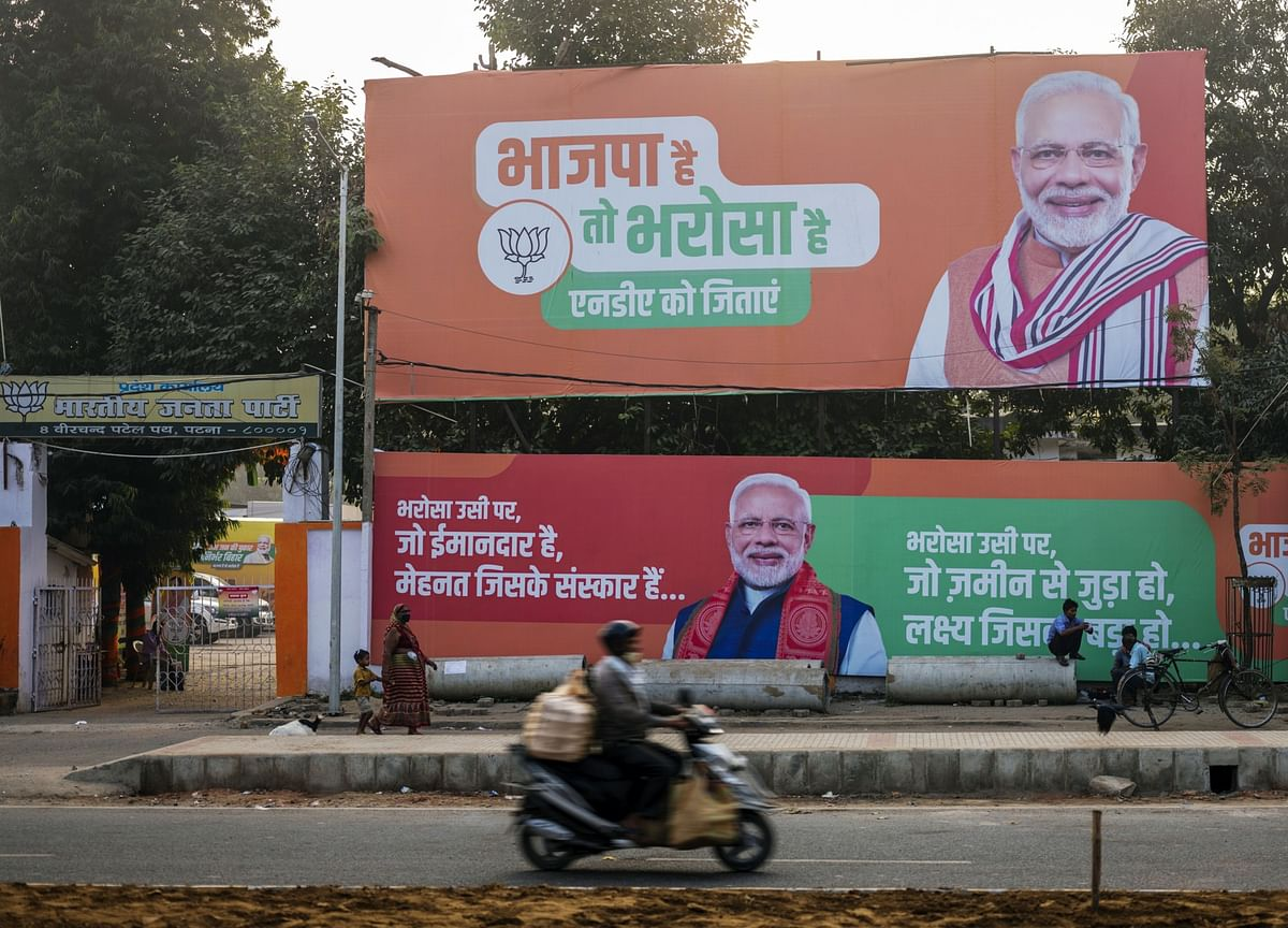 Modi's Alliance Retains Key India State in Tight Poll Fight