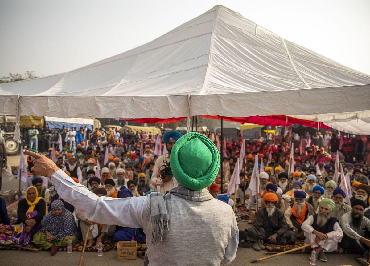 Farmers' Protests At Noida-Delhi Border Enters Eleventh Day