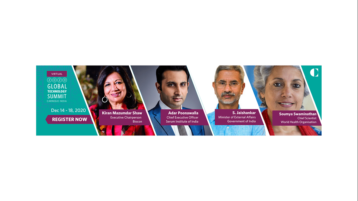 Carnegie India's Global Technology Summit Will Shape Policy Recommendations For India's Role In The Digital Age
