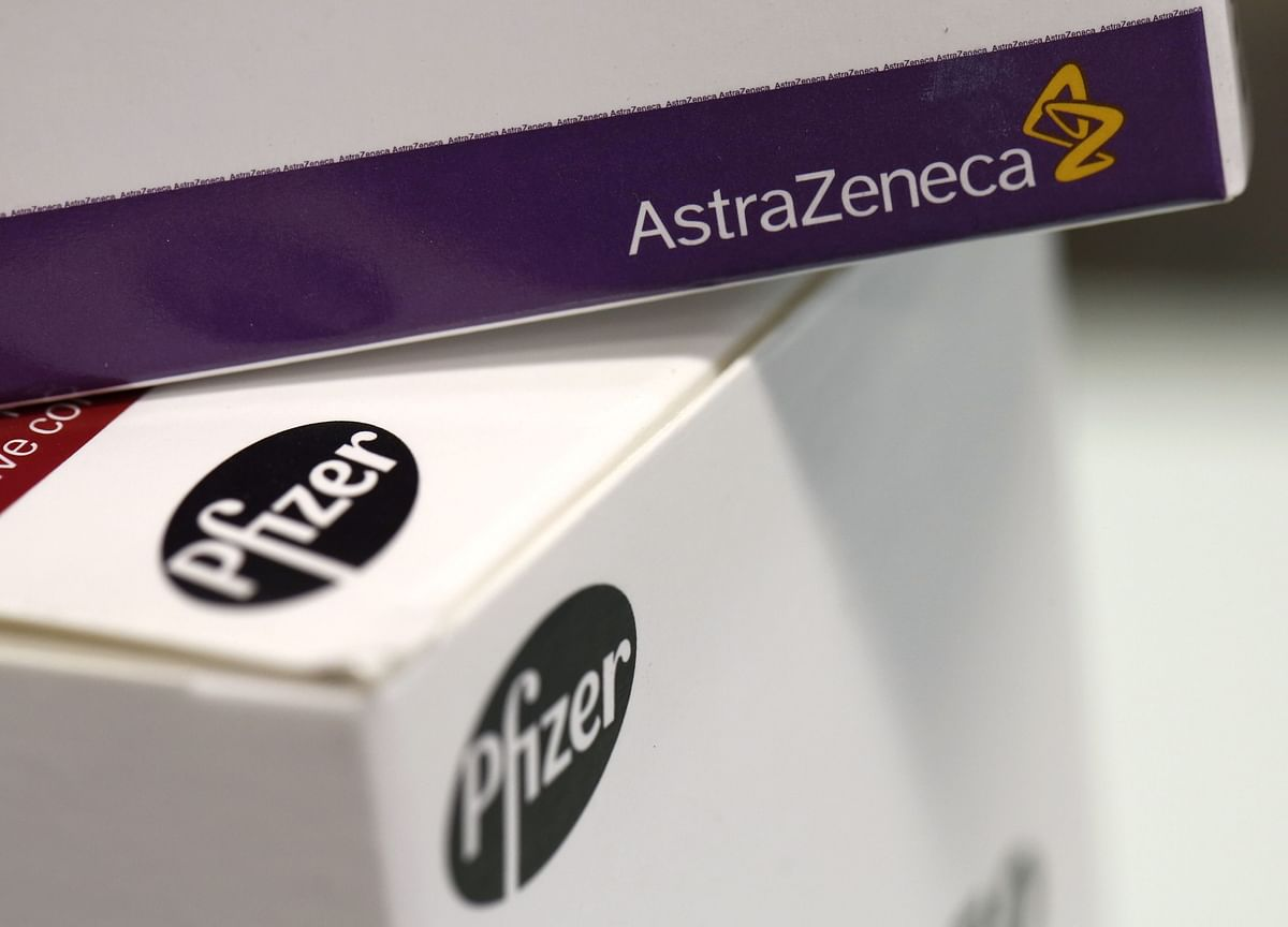 Pfizer, Astra Shots to Be Combined in U.K. Covid Vaccine Trials